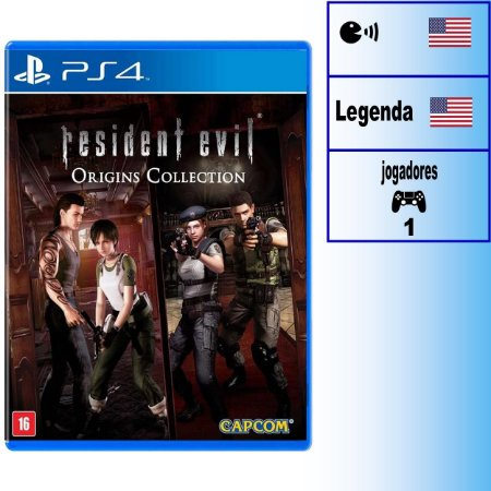 Resident Evil Origins Collection - PS4 - Novo