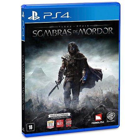Terra Média Sombras de Mordor - PS4 - Novo