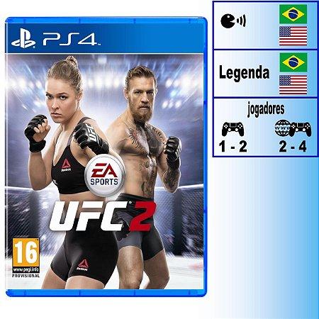 UFC 2 - PS4 - Novo