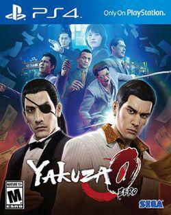 Yakuza 0 - PS4 - Novo