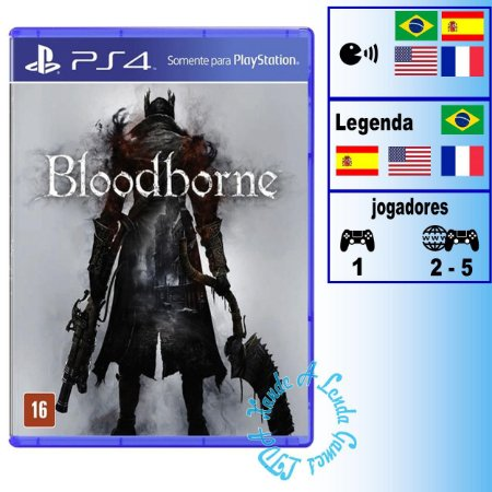Bloodborne - PS4 - Novo