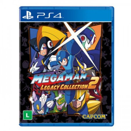 Mega Man Legacy Collection 2 - PS4 - Novo