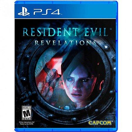 Resident Evil Revelations - PS4 - Novo