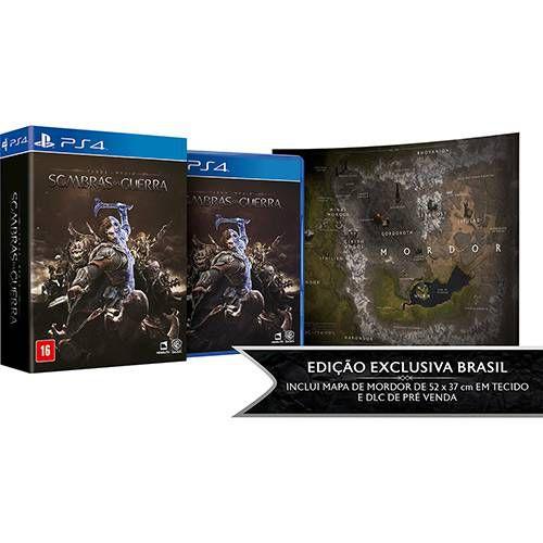 Sombras da Guerra Edição Limitada - PS4 - Novo