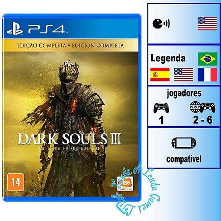 Dark Souls 3 The Fire Fades Edition - PS4 - Novo