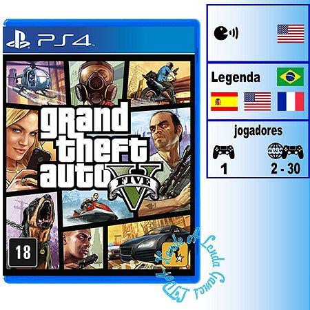 GTA V - PS4 - Novo