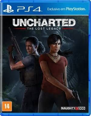Uncharted The Lost Legacy - PS4 - Novo