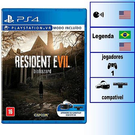 Resident Evil 7 Biohazard - PS4 - Novo