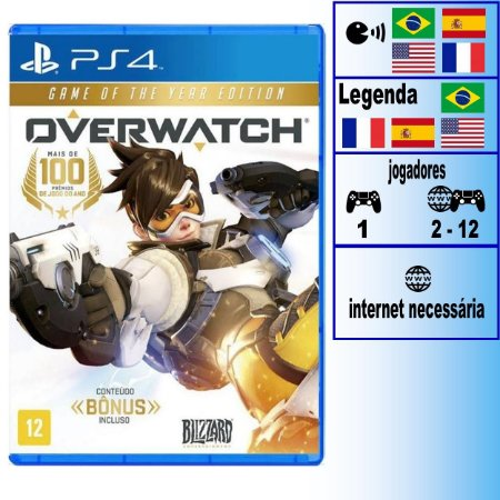 Overwatch Game of The Year - PS4 - Novo