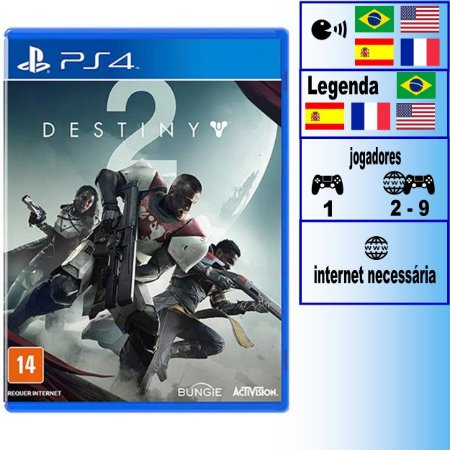 Destiny 2 - PS4 - Novo