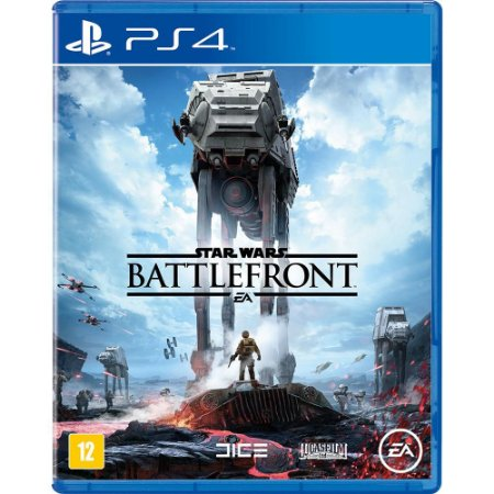 Star Wars: Battlefront - PS4 - Novo