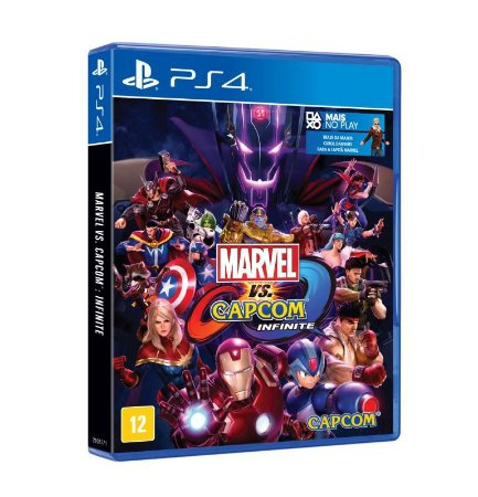 Marvel Vs. Capcom: Infinite - PS4 - Novo