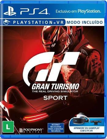 Gran Turismo Sport - PS4 - Novo