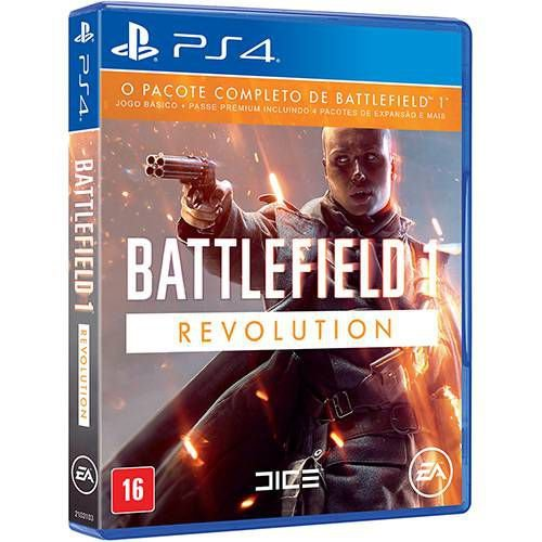 Battlefield 1 Revolution - PS4 - Novo