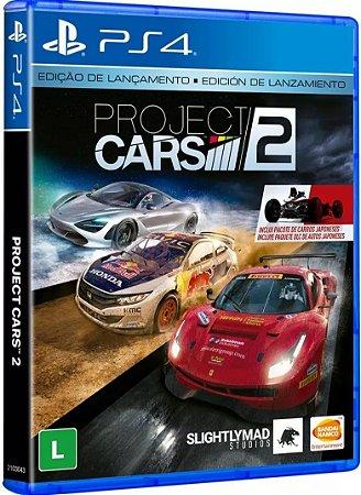 Project Cars 2 Edição de Lançamento - PS4 - Novo