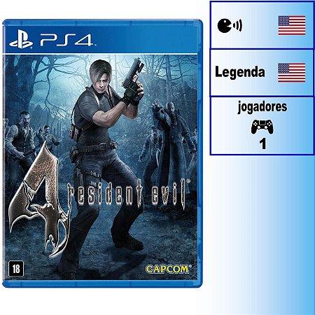 Resident Evil 4 - PS4 - Novo