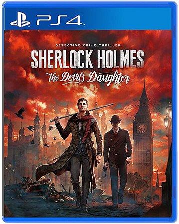 Sherlock Holmes The Devil's Daughter - PS4 - Novo