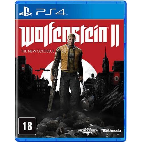 Wolfenstein 2 The New Colossus - PS4 - Novo