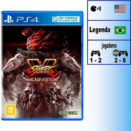 Street Fighter V Arcade Edition - PS4 - Novo