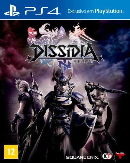 Dissidia Final Fantasy NT - PS4 - Novo