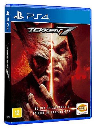 Tekken 7 Edição de Lançamento - PS4 - Novo