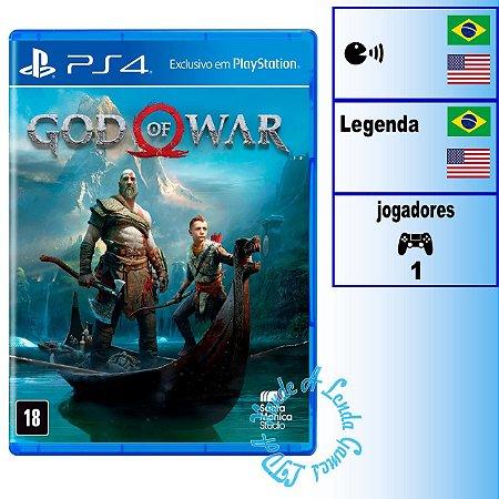 God of War 4 - PS4 - Novo