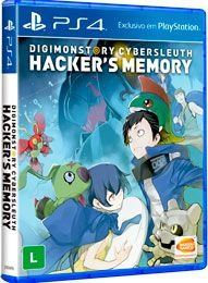 Digimon Story Cyber Sleuth Hacker's Memory - PS4 - Novo