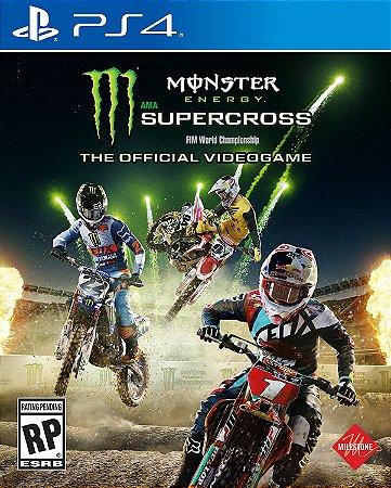 Monster Energy Supercross The Official Videogame - PS4 - Novo
