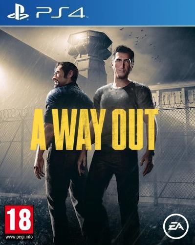 A Way Out - PS4 - Novo