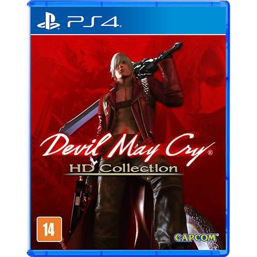 Devil May Cry HD Collection - PS4 - Novo