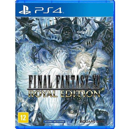 Final Fantasy XV Royal Edition - PS4 - Novo