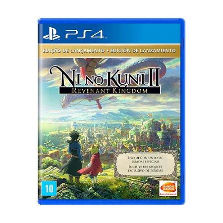 Ni No Kuni II Revenant Kingdom Edição de Lançamento - PS4 - Novo