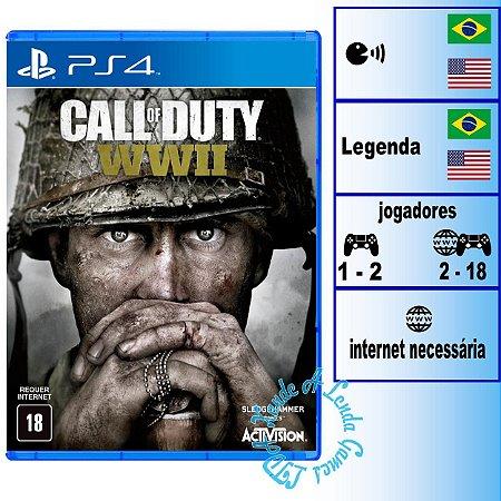 Call of Duty World War II - PS4 - Novo