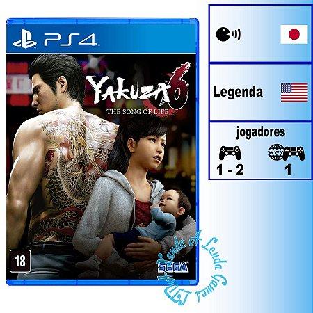 Yakuza 6: The Song of Life - PS4 - Novo