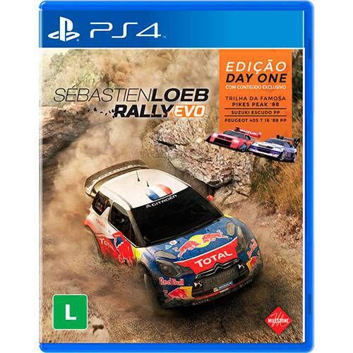 Sebastien Loeb Rally EVO - PS4 - Novo