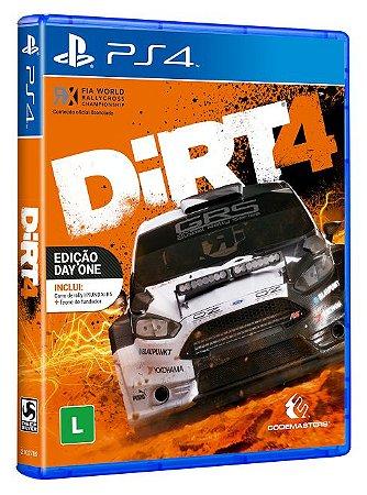 Dirt 4 - PS4 - Novo