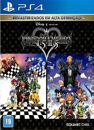 Kingdom Hearts HD 1.5+2.5 Remix - PS4 - Novo