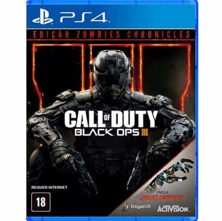 Call of Duty Black Ops III Zombies Chronicles - PS4 - Novo