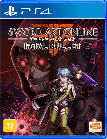 Sword Art Online: Fatal Bullet - PS4 - Novo