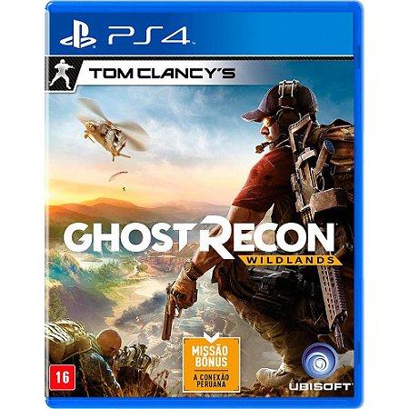 Tom Clancy's Ghost Recon Wildlands - PS4 - Novo