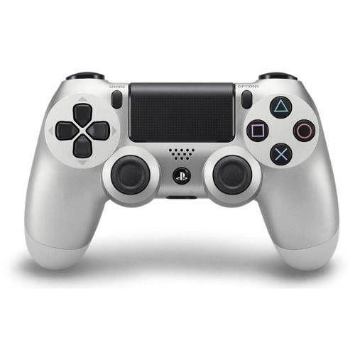Controle Dualshock 4 - PS4 - Novo - Prata