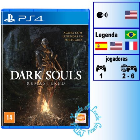 Dark Souls Remastered - PS4 - Novo
