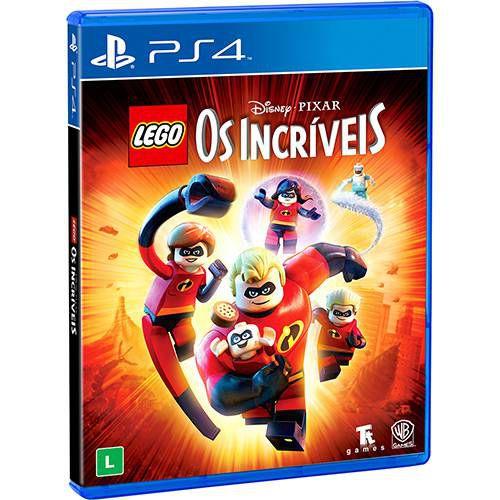 LEGO Disney°Pixar Os Incríveis - PS4 - Novo