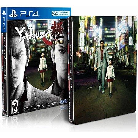 Yakuza Kiwami Steelbook Edition - PS4 - Novo