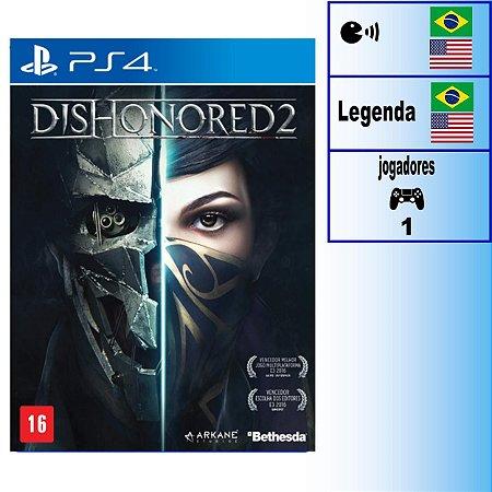 Dishonored 2 - PS4 - Novo
