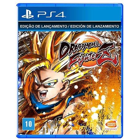 Dragon Ball Fighter Z Edição de Lançamento - PS4 - Novo