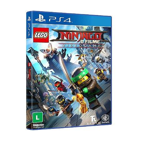 LEGO Ninjago O Filme Videogame - PS4 - Novo