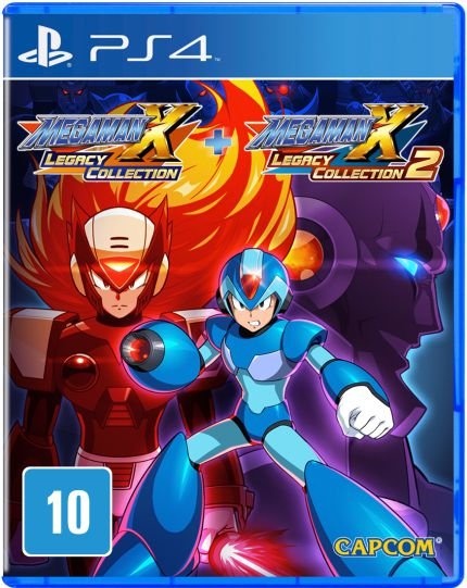 Mega Man X Legacy Collection 1 + 2 - PS4 - Novo