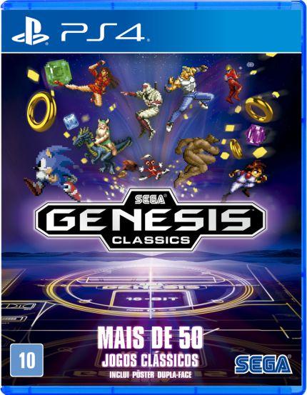 Sega Genesis Classics - PS4 - Novo