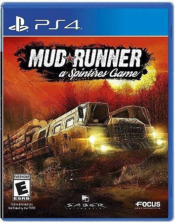 Spintires: Mudrunner - PS4 - Novo